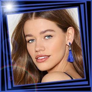 New! Queen of Tassel Earrings